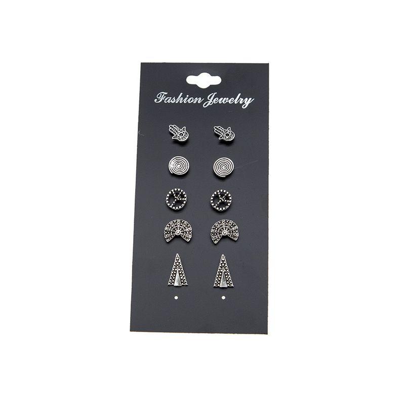 Alloy Fashion Geometric earring  Photo Color NHBQ1789PhotoColor