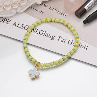 Alloy Fashion Geometric bracelet  (green) NHBQ1792-green's discount tags