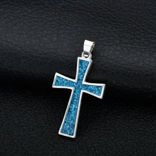 Alloy Fashion Cross necklace  (Pendant) NHBQ1795-Pendant's discount tags