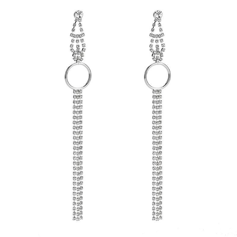 Alloy Fashion Tassel earring  (Alloy) NHYT1132-Alloy