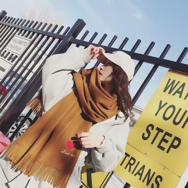 Fashion Cloth  scarf  (caramel colour)  NHCJ0349-caramel colour
