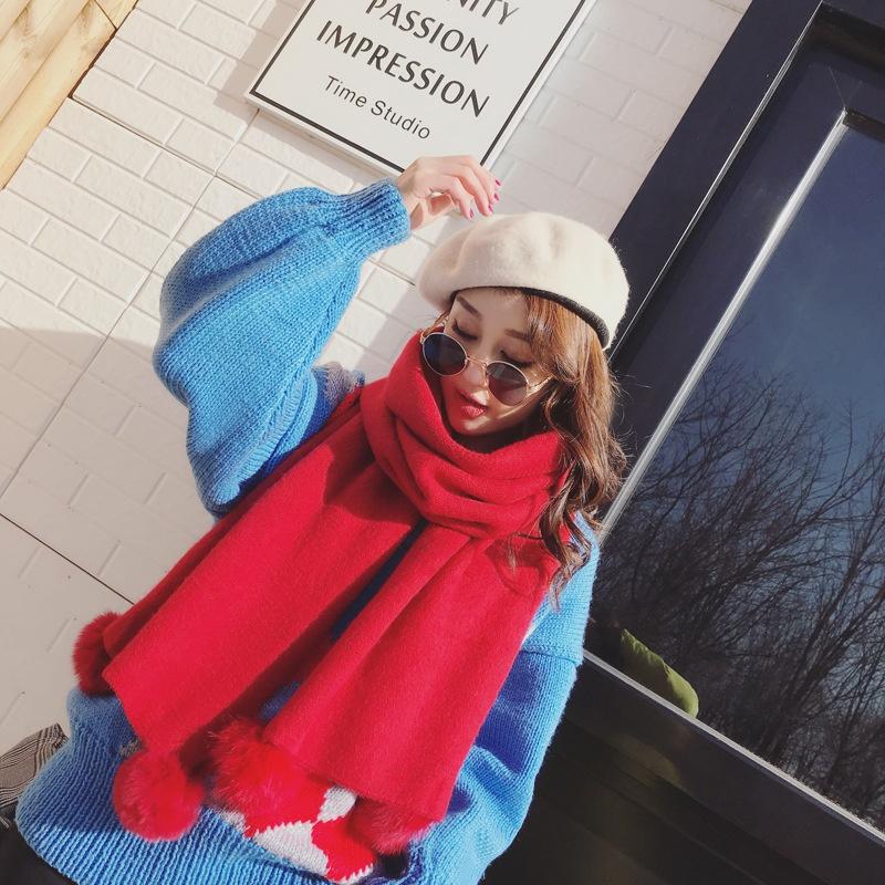 Cute Cloth  scarf  (red)  NHCJ0354-red