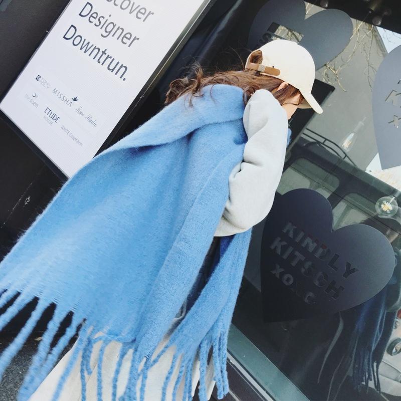 Fashion Cloth  scarf  (blue)  NHCJ0355-blue