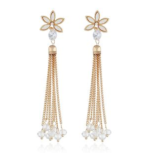 Alloy Fashion Flowers earring  (white) NHVA5123-white's discount tags