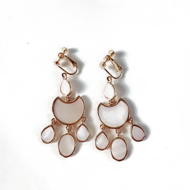 Natural Stone Fashion  earring  Ear clip NHOM0867Earclip