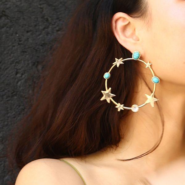 Alloy Fashion Geometric earring  (Alloy 1212) NHXR2502-Alloy-1212