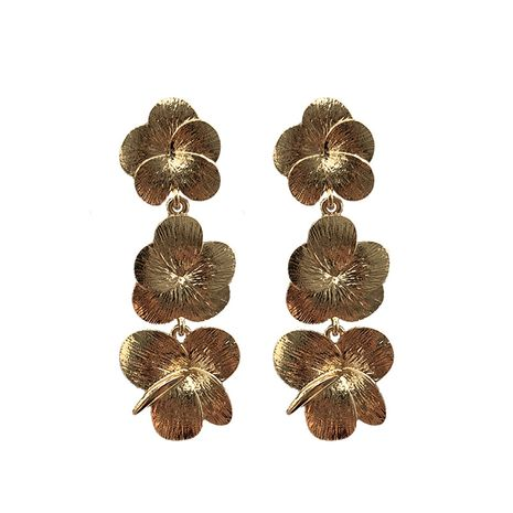 Alloy Vintage Flowers earring  (Alloy) NHJQ10711-Alloy's discount tags
