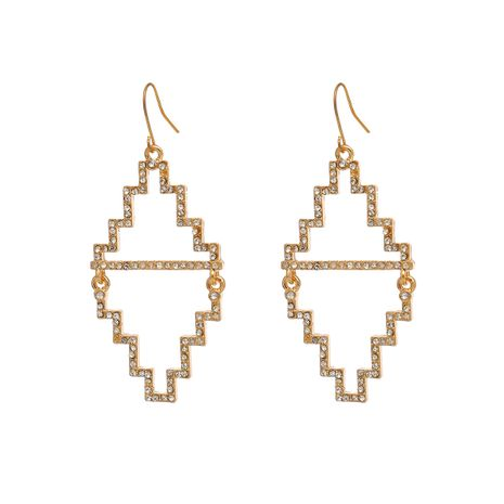 Alloy Simple Geometric earring  (Alloy 1201) NHXR2507-Alloy-1201's discount tags