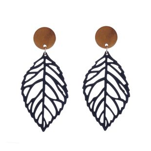Alloy Simple Geometric earring  (Black 1096) NHXR2523-Black-1096's discount tags