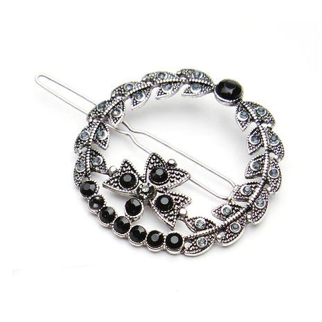 Accessoires cheveux géométriques Vintage en alliage (pince à cheveux ronde) NHHN0028-Pince à cheveux ronde's discount tags