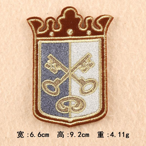Alloy Fashion  Clothes patch  (1) NHDX0193-1