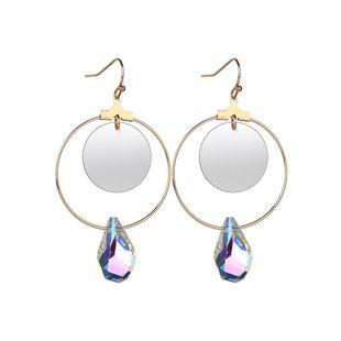 Alloy Korea Geometric earring  (Photo Color) NHBQ1796-Photo-Color's discount tags