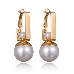 Alloy Korea Geometric earring  (Alloy) NHBQ1806-Alloy's discount tags