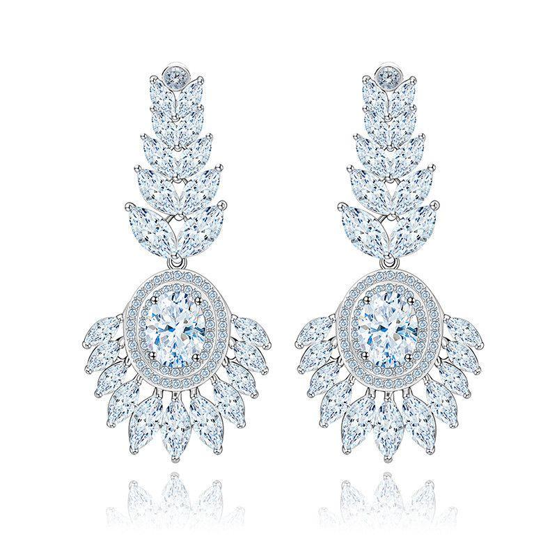 Alloy Korea Geometric earring  platinum NHTM0360platinum