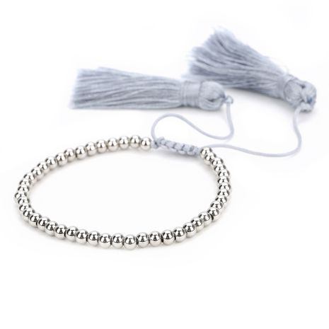 Titanium&Stainless Steel Fashion Tassel bracelet  (M-B0537-A) NHGW1040-M-B0537-A's discount tags