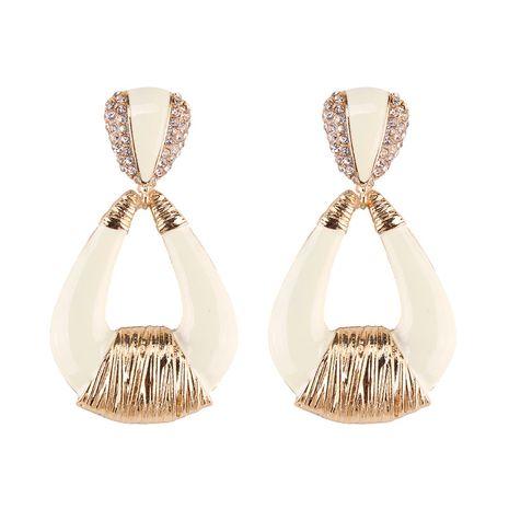Alloy Fashion Geometric earring  (white) NHJQ10723-white's discount tags