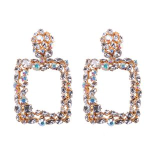 Alloy Fashion Geometric earring  (Color one) NHJQ10731-Color-one's discount tags