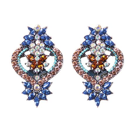Alloy Fashion Geometric earring  (blue) NHJQ10740-blue's discount tags
