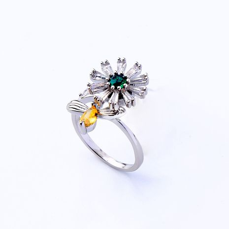 Copper Korea Flowers Ring  (Photo Color) NHQD5663-Photo-Color's discount tags