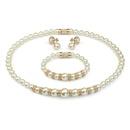 Alloy Korea  Jewelry Set  Alloy white beads NHLJ4097Alloywhitebeads