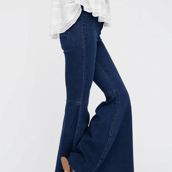 Cotton Fashion  pants  (Light blue-M) NHAM5729-Light-blue-M