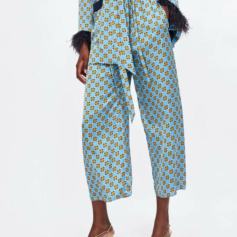 Chiffon Fashion  pants  (Picture color-S) NHAM5832-Picture-color-S