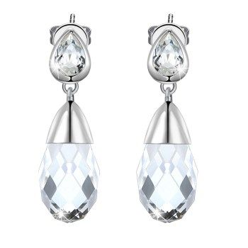 Platinum Plated  Stud Earrings NHKL13328's discount tags