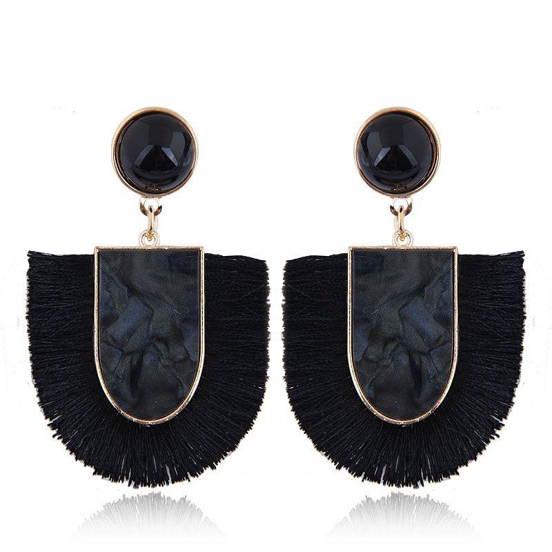 Alloy Fashion earring NHNSC12832
