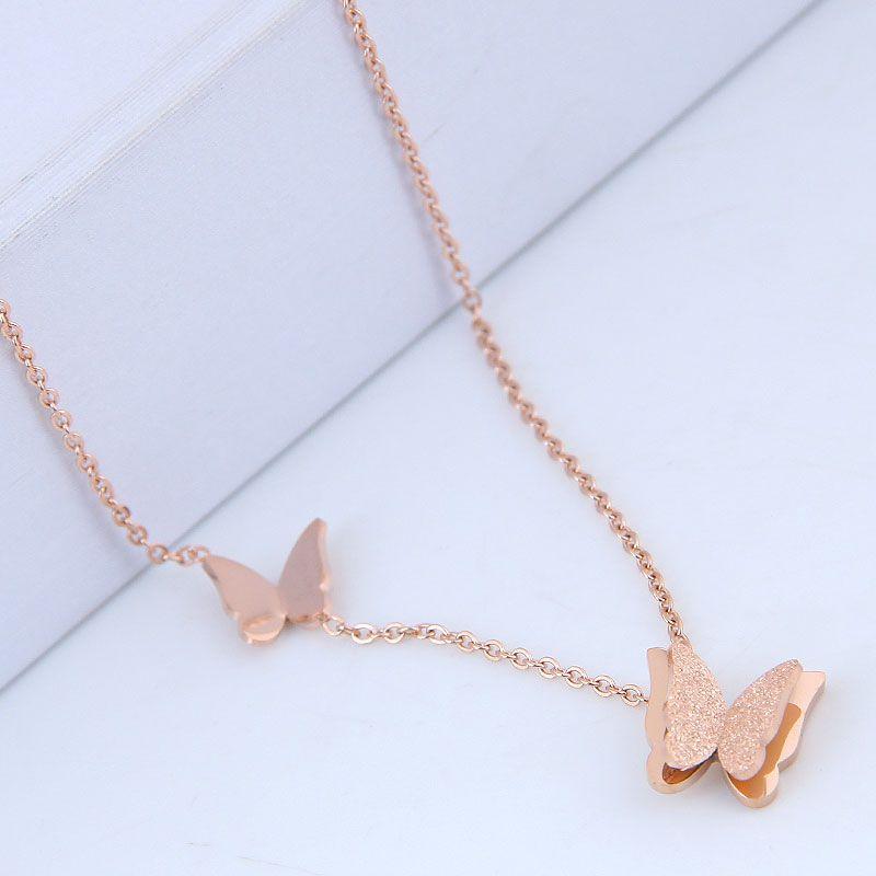 Titanium&Stainless Steel Fashion necklace NHNSC12848