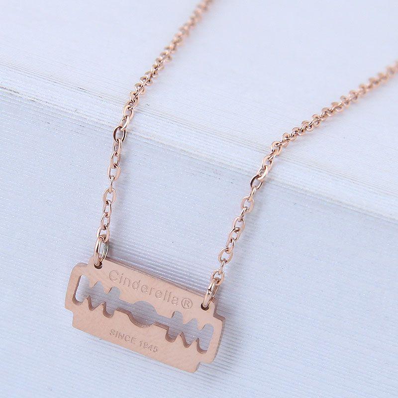 Titanium&Stainless Steel Fashion necklace NHNSC12852