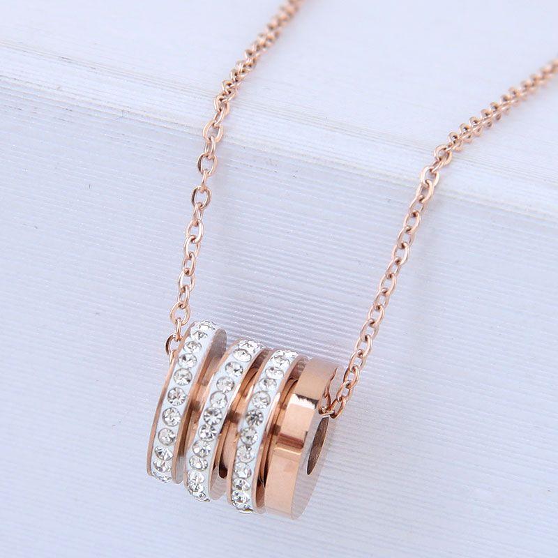 Titanium&Stainless Steel Fashion necklace NHNSC12855