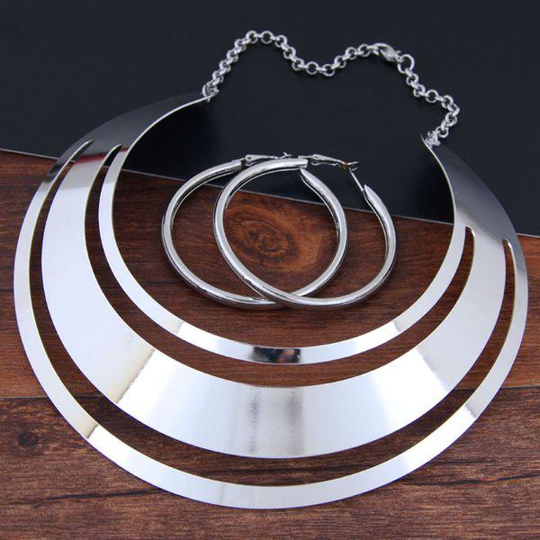 Alloy Fashion necklace NHNSC12930