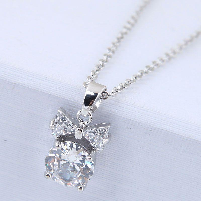 Alloy Korea necklace NHNSC13004