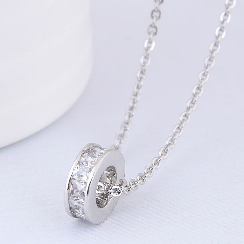 Alloy Korea necklace NHNSC13005