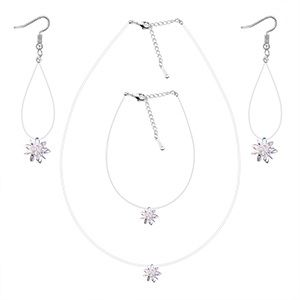 AAA Zircon Set - Frozen (White) NHKSE28793