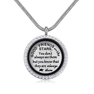 Plated alloy necklace - sweet special (GOOD FRIENDS) NHKSE28788