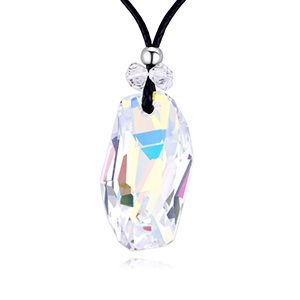 Austrian Imitated crystal Necklace - The Word of Nightmare (Colorful White) NHKSE28762