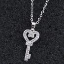Alloy Korea necklace NHNSC13012