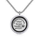 Imported Imitated crystal NecklaceSweet Special Family NHKSE28792