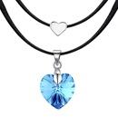 Austrian Imitated crystal NecklaceBlue Heart Sharp Moon Bluray NHKSE28770