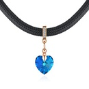 Austrian Imitated crystal Necklace  Heart of True Love Champagne Alloy + Bluray NHKSE28734
