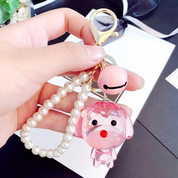 Acrylic Fashion Cartoon key chain  (1) NHBM0480-1