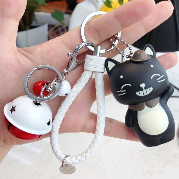 Plastic Fashion Cartoon key chain  (1) NHBM0490-1
