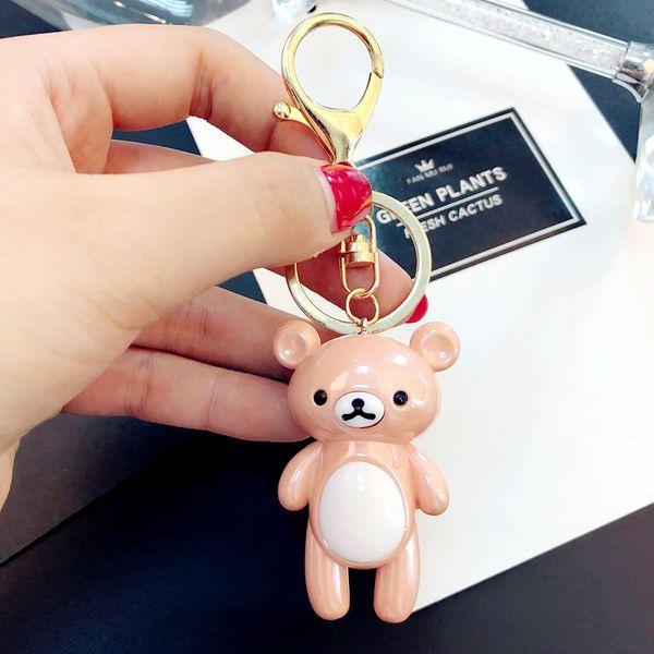 Acrylic Fashion Cartoon key chain  (1) NHBM0499-1