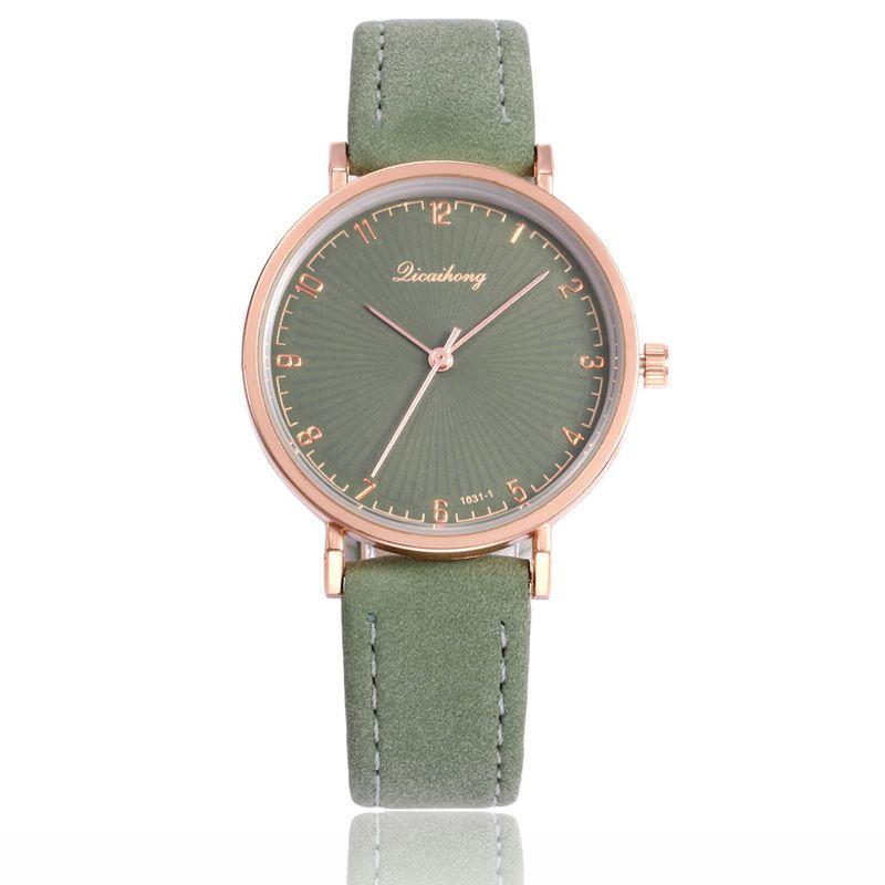 Alloy Fashion  Ladies watch  (green) NHHK1144-green