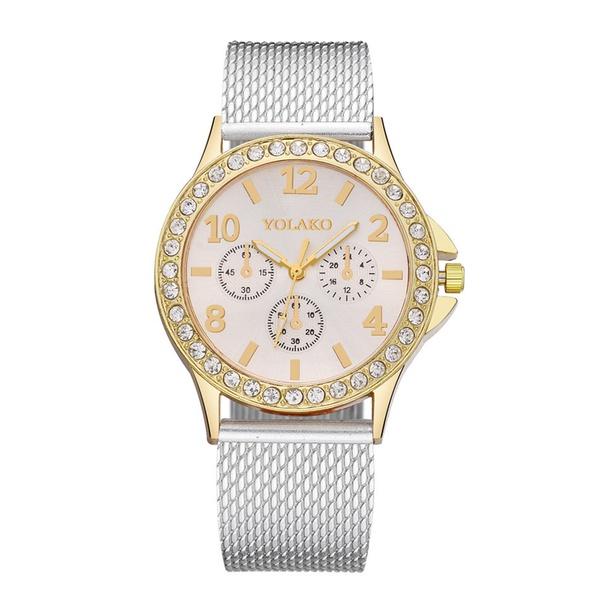 Alloy Fashion  Ladies watch  (white) NHSY1436-white