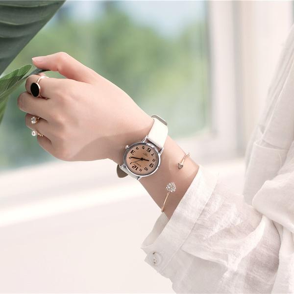 Alloy Fashion  Ladies watch  (white) NHSY1450-white