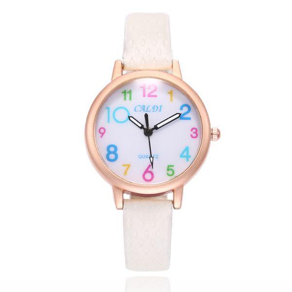 Alloy Fashion  Ladies watch  (white) NHSY1451-white