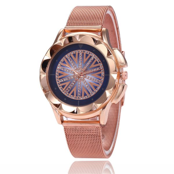 Alloy Fashion  Ladies watch  (Blue surface) NHSY1576-Blue-surface