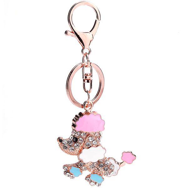 Alloy Fashion Animal key chain  (puppy) NHMM2223-puppy